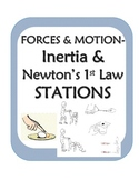 Force and Motion Stations-inquiry activities for Newton's 1st law/ Inertia