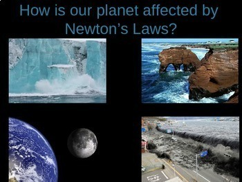 How do forces shape the Earth? (Newton's Laws) Bundle