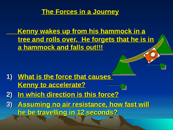 Forces journey