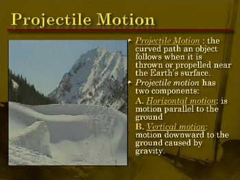 Forces of Motion Presentation & Notes