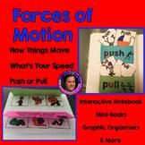 Forces of Motion Unit with Teacher Book,  Mini-book & Grap