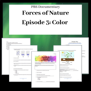 Forces of Nature Documentary: Color Video Sheet