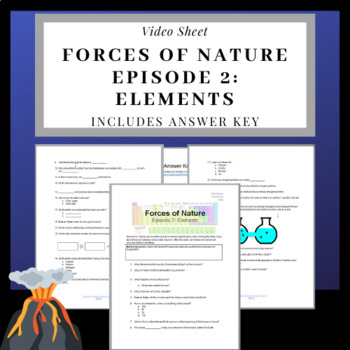Forces of Nature Documentary: Elements Video Sheet