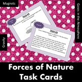 Forces of Nature Task Cards:  Magnets, Gravity, and Atmospheric Gases!