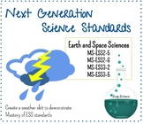 Forecast the Weather Project - NGSS ESS standards assessment