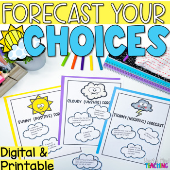 Forecast your Choices sorting activity