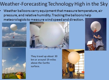Forecasting The Weather powerpoint