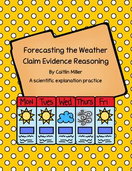 Forecasting Weather Claim Evidence Reasoning