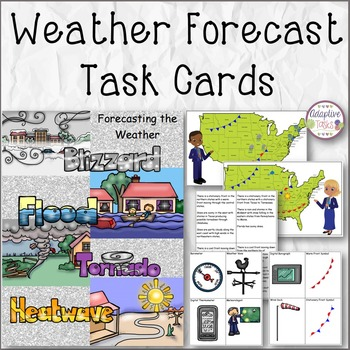 Forecasting the Weather Task Cards