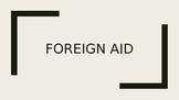 Foreign Aid PowerPoint