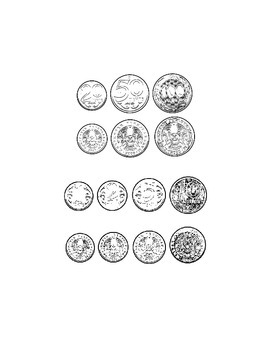 Foreign Currency Clip Art: Sweden