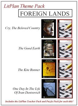 Foreign Lands Novel Unit Theme Pack Bundle