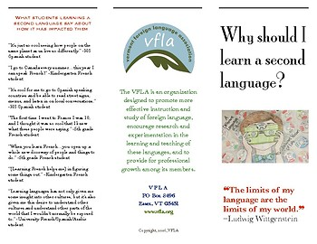 Foreign Language Advocacy Brochure