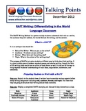 Foreign Language Classroom Teaching Activities (12/2012)