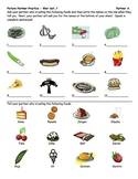 Foreign Language Food Vocabulary Practice
