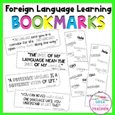 Foreign Language Learning Bookmarks