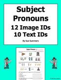 Subject Pronoun 12 Image IDs and 10 Text IDs