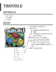 Foreign Language Verb Board Game Rules & Answer Sheet