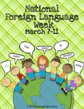 Foreign Language Week *FREE POSTER*