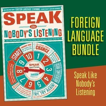 Foreign Language motivational posters (BUNDLE)