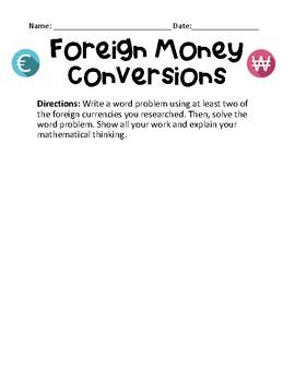 Foreign Money Conversation