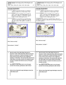 Foreign Policy & Andrew Jackson Study Guide