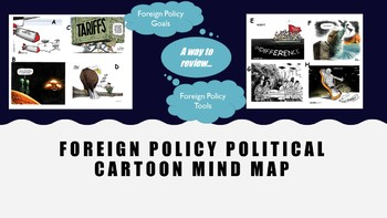 Foreign Policy Political Cartoon Mind Map