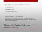 Foreign Policy in the U.S.