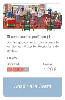 Spanish Reading (beginners): El restaurante perfecto (1)
