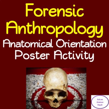 Forensic Anthropology: Anatomical Orientation Poster Activity