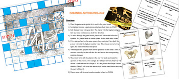 Forensic Anthropology Review Board Game