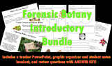 Forensic Botany Introductory Bundle