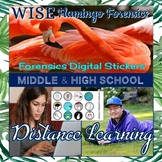 Forensic Digital Distance Learning Stickers