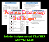 Forensic Entomology Bell Ringers