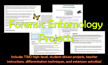 Forensic Entomology Student Projects