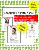 Forensic Fairytale: A PBL UNIT!! Incl Sketch Notes,Teacher Guide & Crime Scene!