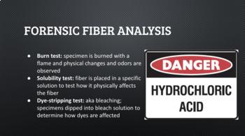 Forensic Fiber Analysis