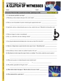 Forensic Files : A Clutch of Witnesses (science/ crime video worksheet)