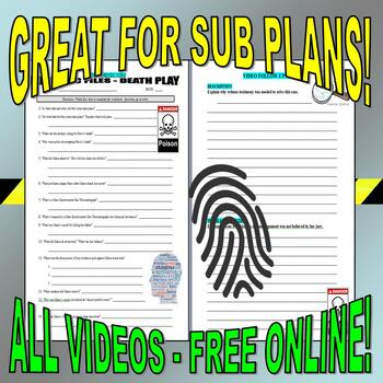 Forensic Files : Bundle Package 1 (10 episode video worksheets and more)