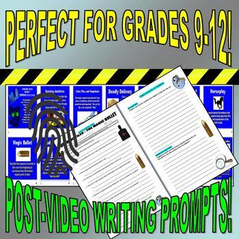 Forensic Files : Bundle Set #1 (10 episode video worksheets and more)
