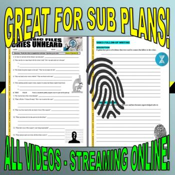 Forensic Files : Bundle Package 15 (10 video worksheets and more!)