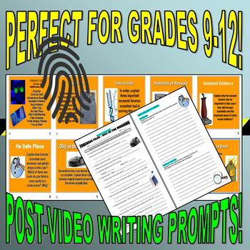 Forensic Files : Bundle Package 5 (11 episode video worksheets and more)