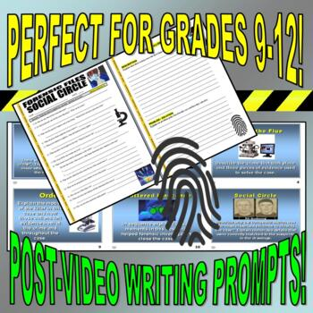 Forensic Files : Bundle Package 8 (10 Video Worksheets and More)