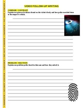 Forensic Files : Capitol Crimes (video worksheet)