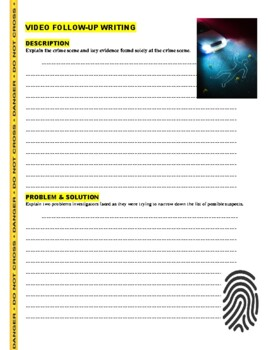Forensic Files : Concrete Alibi (video worksheet)