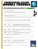 Forensic Files : Double Trouble (high school science video worksheet / no prep)