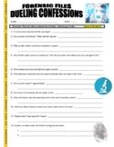 Forensic Files : Dueling Confessions (science video worksheet)