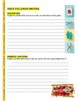 Forensic Files : Fate Date (video worksheet)