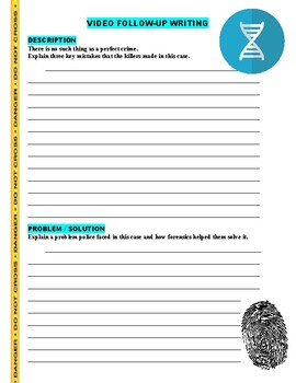 Forensic Files : Financial Downfall (video worksheet)