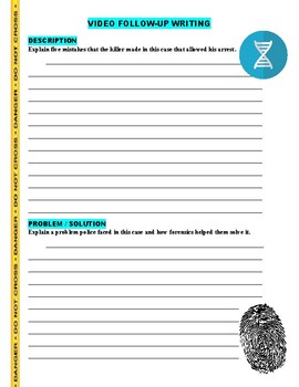 Forensic Files : Flower Power (video worksheet)